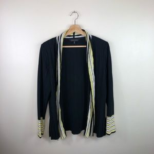 Ming Wang black cardigan sweater size medium